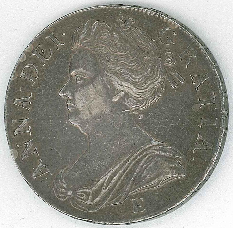 Lot 141 Queen Anne Crown (Edinburgh Mint)