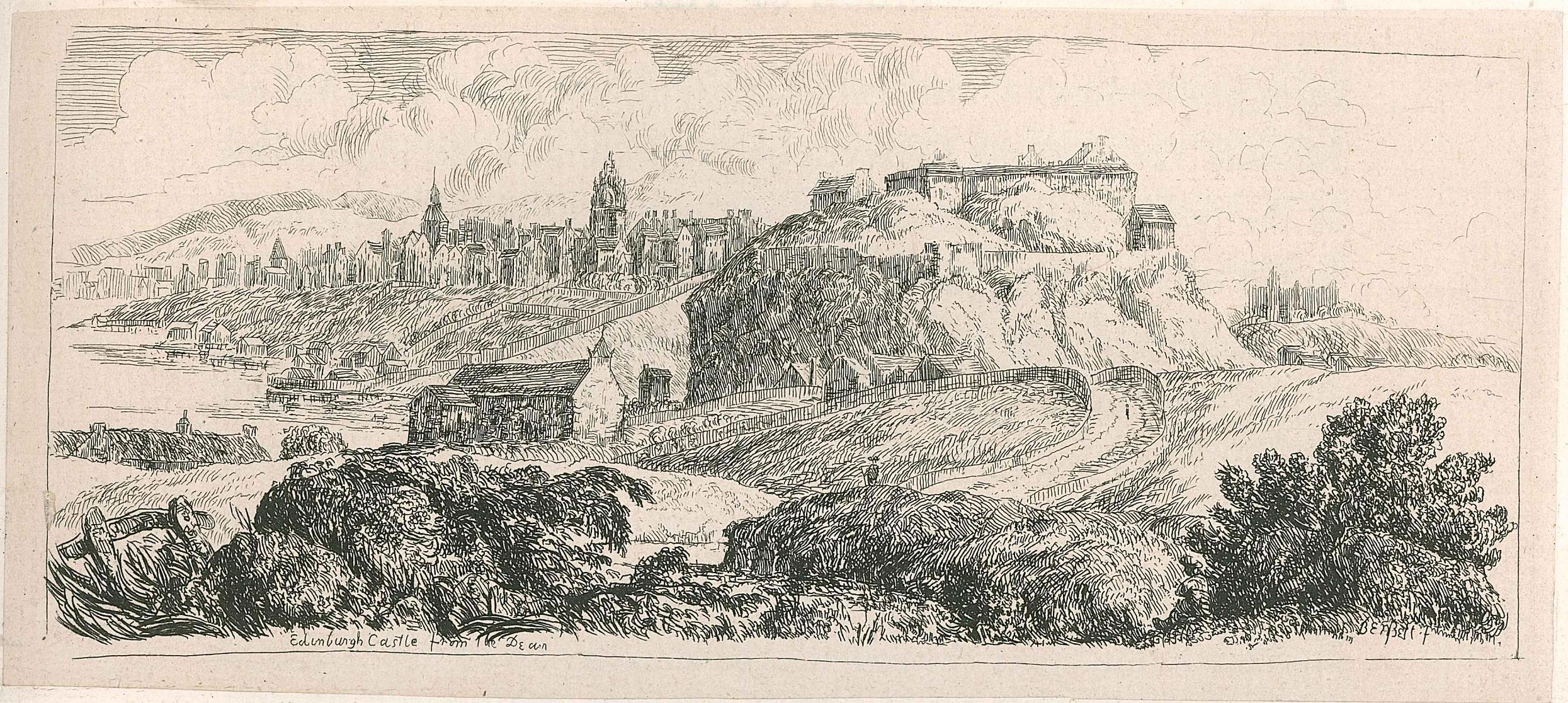 Print of Edinburgh Castle