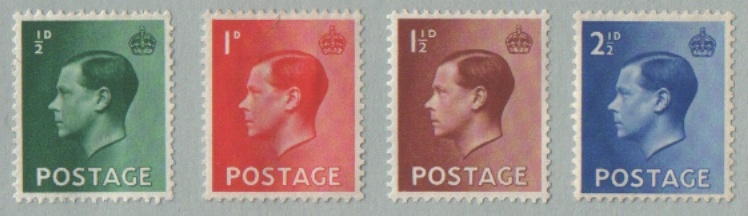 king edward viii stamps