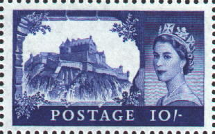 edinburgh castle stamp