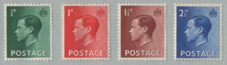 king edward viii stamps