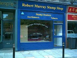 Robert Murray Stamp Shop Edinburgh Scotland Any