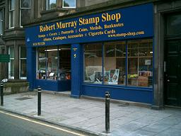 Stamp and Coin and Collectables Shop